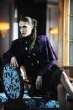 Modelady Royaltyfri Bild