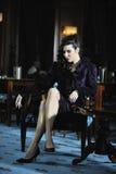 Modelady Royaltyfri Fotografi