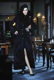 Modelady Royaltyfri Foto