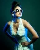 Modelady Fotografering för Bildbyråer