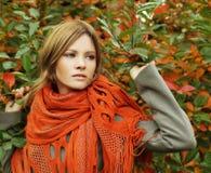 Modelady, glamourskönhet Arkivfoto