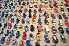 Modelauto's, stuk speelgoed auto's Royalty-vrije Stock Foto