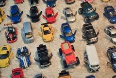 Modelauto's, stuk speelgoed auto's Royalty-vrije Stock Afbeeldingen
