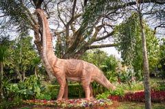 Modeldinosaurus stock afbeelding