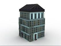 Modele a casa Imagens de Stock Royalty Free