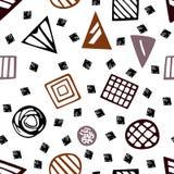 Modele con las formas geométricas EPS 10 Foto de archivo libre de regalías