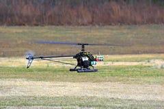 Modele el helicóptero Imagenes de archivo