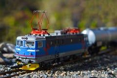 Modele linie kolejowe Roco, elektryczna lokomotywa RC6 1422 Fotografia Stock