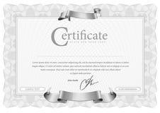 Modele que é usado na moeda e nos diplomas Foto de Stock