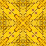 Modele a textura da asa de seda amarela e vermelha G da borboleta de sikkim Foto de Stock Royalty Free
