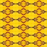 Modele a textura da asa de seda amarela e vermelha G da borboleta de sikkim Fotos de Stock