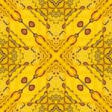 Modelez la texture de l'aile en soie jaune et rouge G de papillon du Sikkim Photo libre de droits