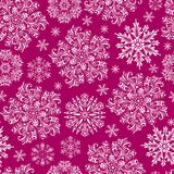 modelez les flocons de neige Photographie stock libre de droits