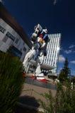 Modelgundum на Odaiba Японии Стоковое Изображение
