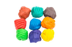 Modeling clay Royalty Free Stock Images