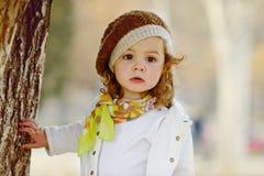 Modelitet barnflicka Royaltyfri Fotografi