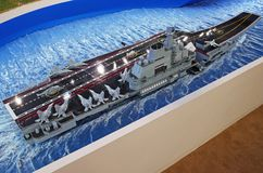 Modell воздушных судн фарфора Стоковая Фотография