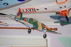 Modell Aircraft Hawker Hurricane royaltyfria foton