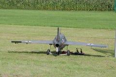 Modell Airplane - stråle - Modelljet Fotografering för Bildbyråer
