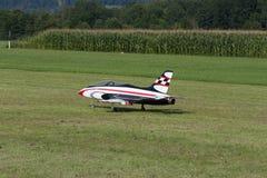 Modell Airplane - stråle - Modelljet Royaltyfria Bilder