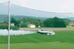 Modell Airplane - stråle - Modelljet Royaltyfri Fotografi