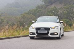 Modell Audis A3 Limousine-2014 Lizenzfreie Stockfotografie