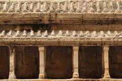 Modell av Angkor Wat på Wat Phra Kaew Arkivbilder