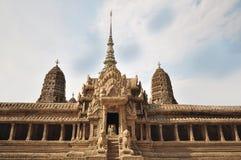 Modell av Angkor Wat på Wat Phra Kaew Fotografering för Bildbyråer