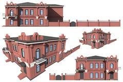 Modell av byggnaden Royaltyfri Fotografi