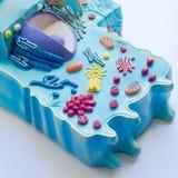 Modell av den djura cellen arkivfoton