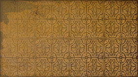Modell av den gamla tegelplattan Fotografering för Bildbyråer