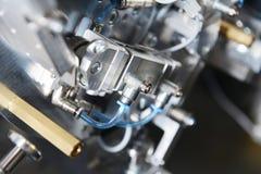 Modell av den industriella maskinen Royaltyfri Foto