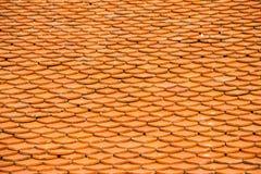 Modell av det bruna keramiska taket Royaltyfria Bilder