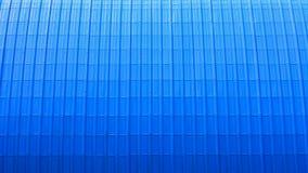 Modell av det moderna blåttmetalltaket Royaltyfri Bild
