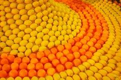 Modell av frukter. Royaltyfria Bilder