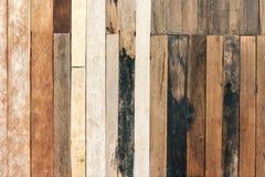 Modell av gammalt trä, abstrakt texturbakgrund Tappningwallpa Royaltyfri Bild