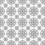 Modell av geometriska formkonturer Royaltyfria Bilder
