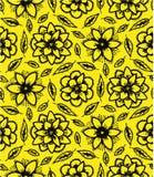 Modell av gula blommor Royaltyfri Bild