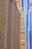 Modell av hög byggnad Arkivbild