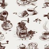 Modell av kaffe vektor illustrationer