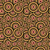 Modell av koncentriska cirklar Royaltyfria Foton