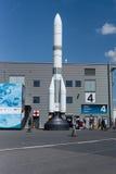 Modell av lanseringsmedlet Ariane 6 ( A64) Royaltyfria Foton