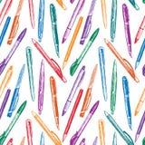 Modell av pennor Arkivbilder