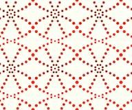 Modell av prickar, skuggor av apelsinen vektor illustrationer