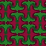 Modell av röda liljor och sidor Arkivfoton