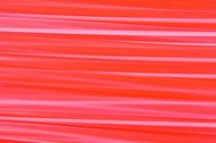 Modell av rött sugrör Fotografering för Bildbyråer