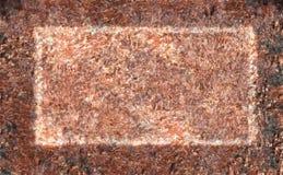 Modell av rosa färgstenen Arkivfoton