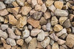 Modell av stenar royaltyfria bilder