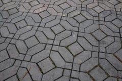 Modell av trianglar inom cirklar inom fyrkanter arkivfoto