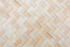 Modell av vävd bambu royaltyfria bilder